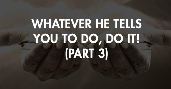 TOT 79 | Whatever He Tells You